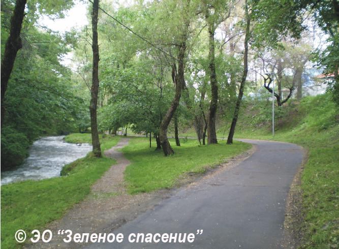 «Золотой» терренкур, или Результаты проекта реконструкции набережной реки Малая Алматинка