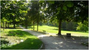 Парки во Франции очень распространены, здесь это популярное место для семейного отдыха