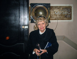 Хранитель музея Л.П.Кухалева
