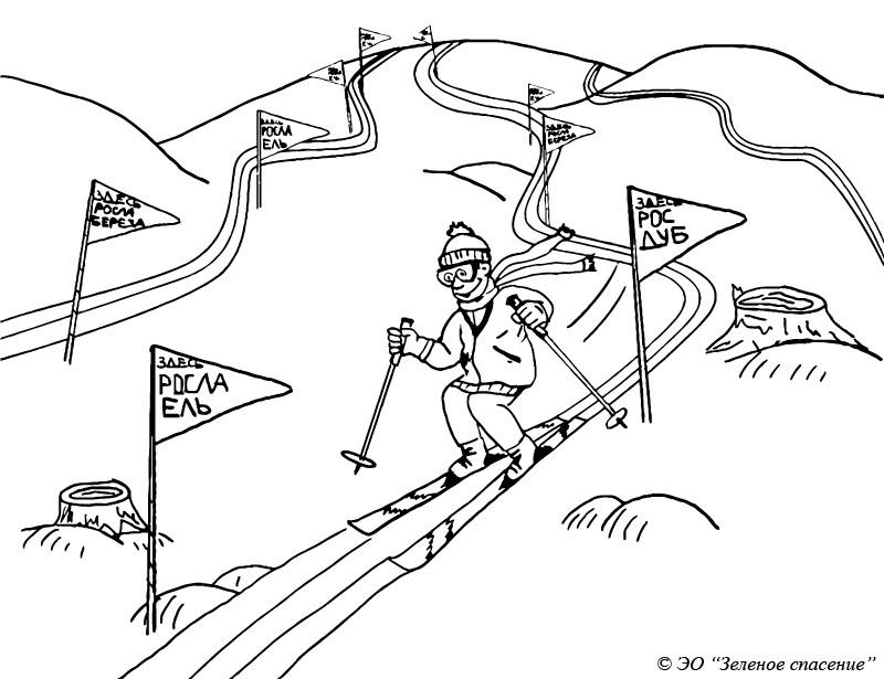 1. ski
