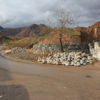 The public concerned by the condition of the ancient settlement Talgar
