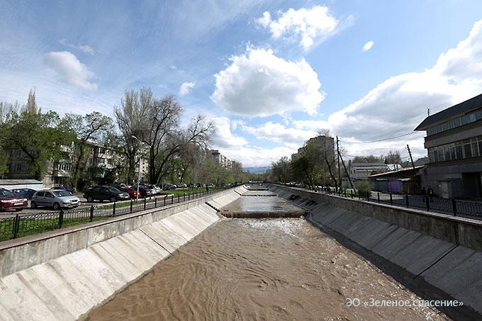 Качество поверхностных вод в реках г.Алматы в апреле 2016 года