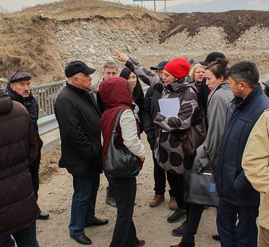 Выезд представителей Центра всемирного наследия и ИКОМОС на городище Талгар