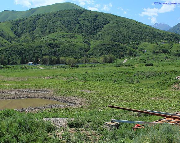 Талгар – объект Всемирного наследия. Мусор, запустение, разруха.