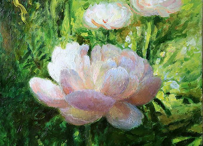 Цветочный рай Елены Сергеевны
