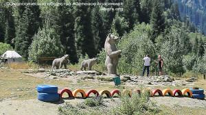 В память о животных, негода обитавших в парке