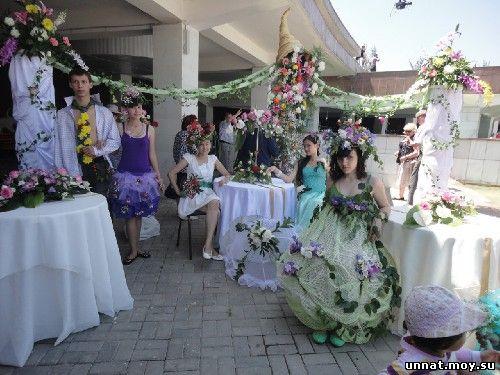 Городской фестиваль «Алматы гүл қала»