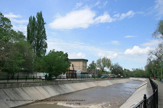 Экомониторинг Алматы. Река Есентай