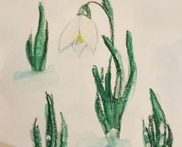 Сказка о белом цветке
