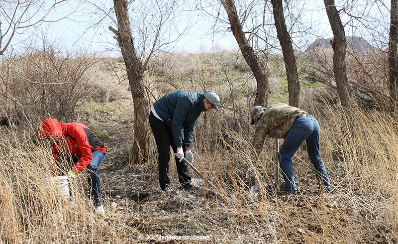 Экологическая акция на реке Или