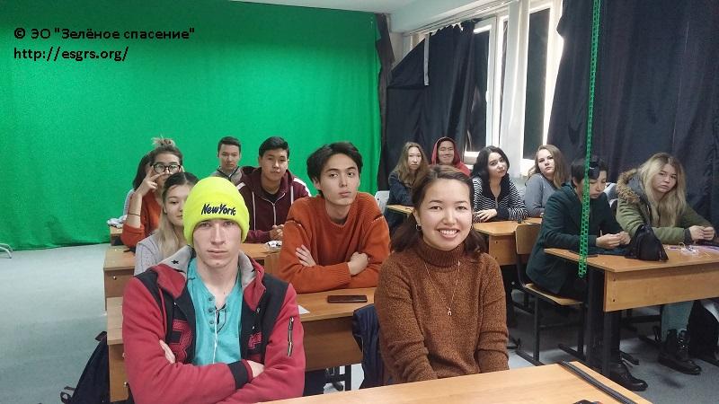 В клубе «Зеленый объектив» премьера!