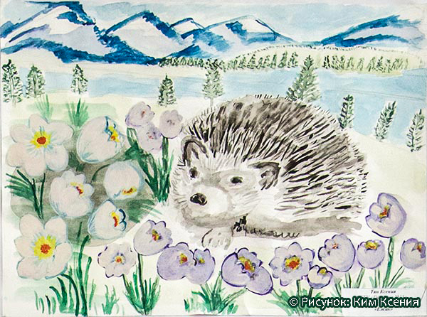 Приглашаем на конкурс рисунков «Детям – достойную жизнь в благоприятной природной среде»