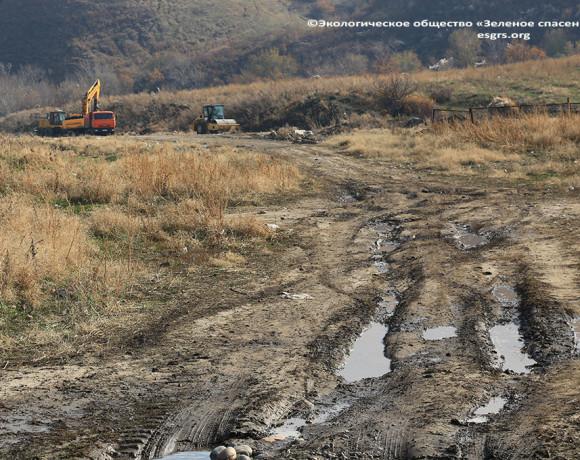 Absurd around the Talgar site continues
