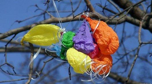 Что происходит с воздушным шаром, после того как он исчезает из поля зрения?