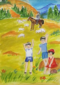 Рисунок Ибраева Ильдара