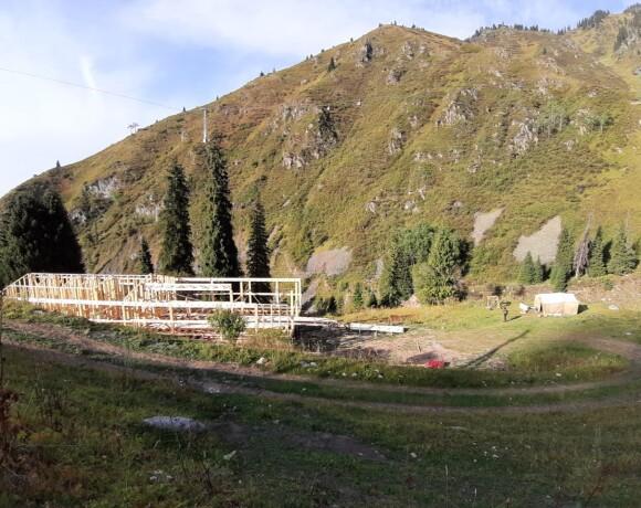 Еще одно строительство в национальном парке с нарушением закона